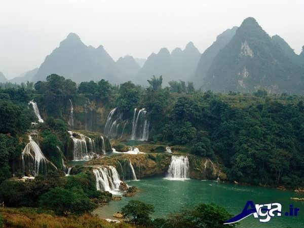عکس آبشار ها در خارج از کشور