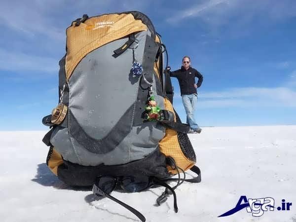 عکس خطای دید در برف