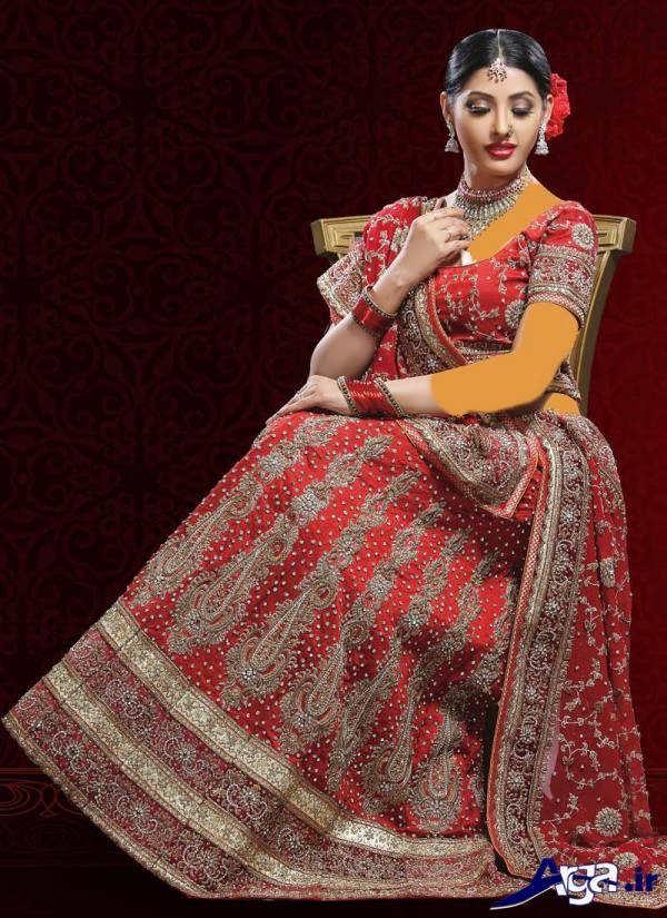لباس عروس هندی شیک