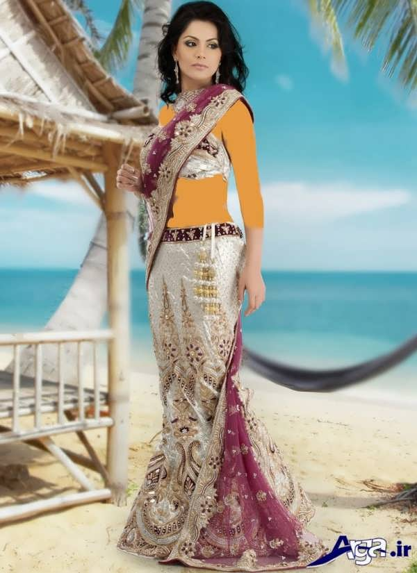 لباس عروس هندی فوق العاده جذاب