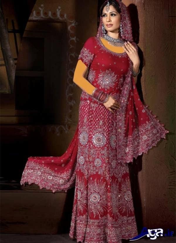 لباس عروس هندی زیبا و جذاب
