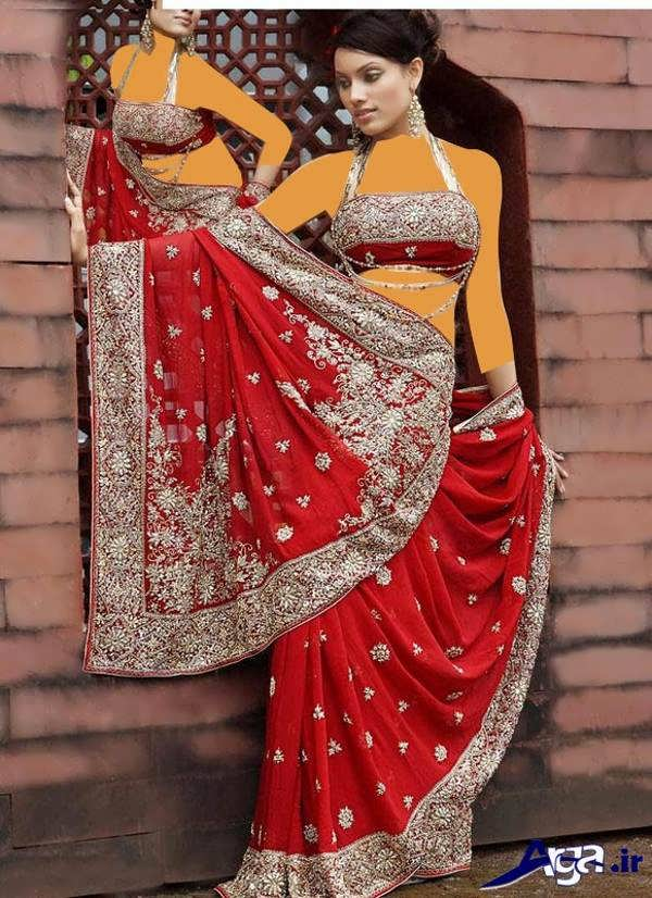 لباس عروس هندی قرمز