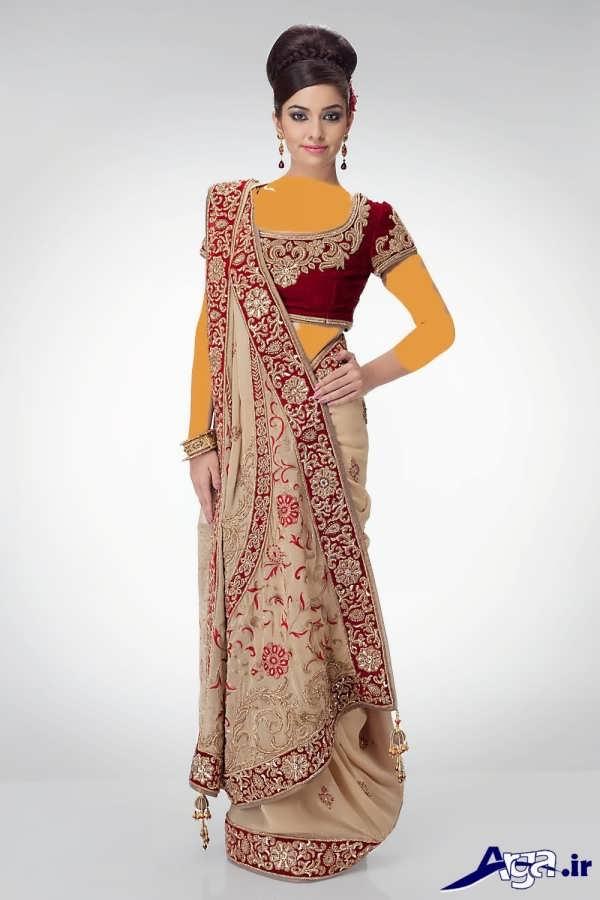 لباس عروس هندی و ساری