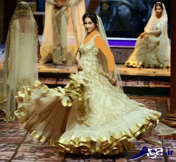 لباس عروس های سفید هندی