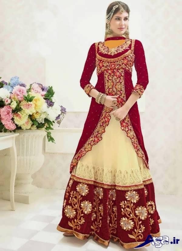 لباس عروس هندی پوشیده