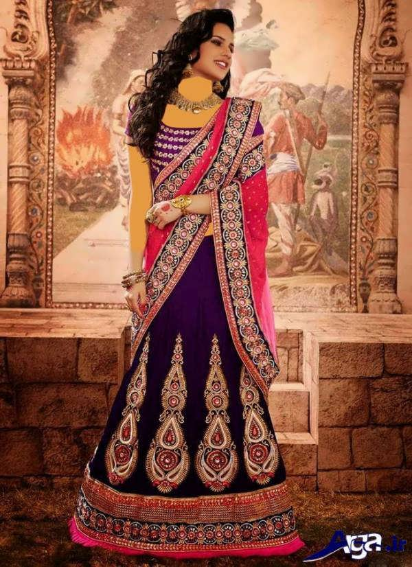 لباس عروس هندی صورتی