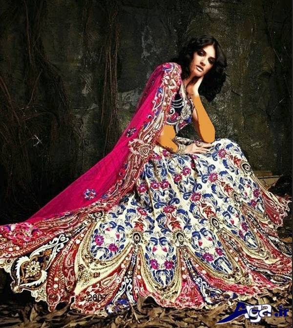 لباس عروس هندی جدید سنتی
