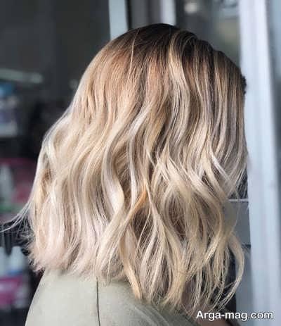 رنگ مو زیبا کنفی