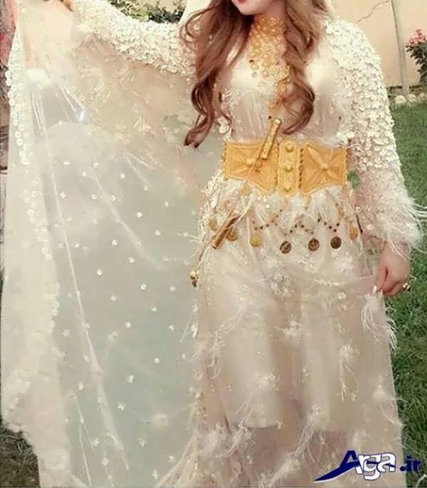 لباس عروس کردی سفید