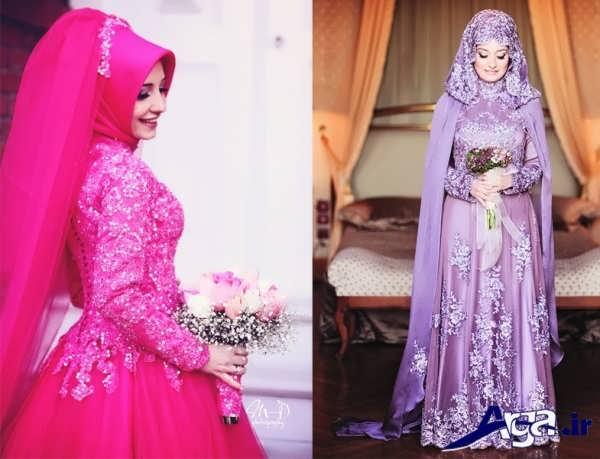 تنوع رنگ در لباس عروس کردی