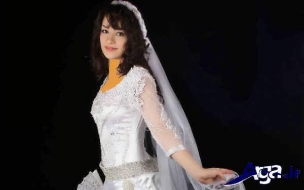 لباس عروس کردی زیبا