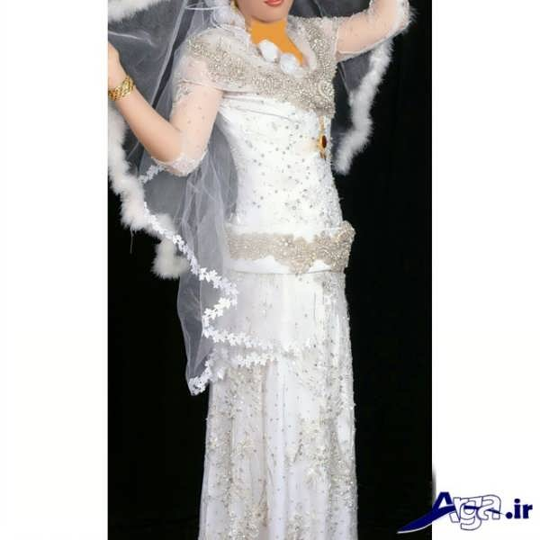 لباس عروس کردی مدرن