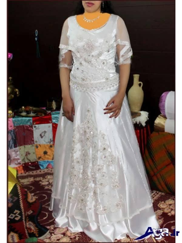 لباس عروس کردی شیک