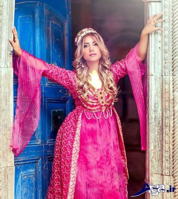 انواع مدل می کردی مدل لباس عروس کردی جدید در رنگ ها و طرح های مختلف
