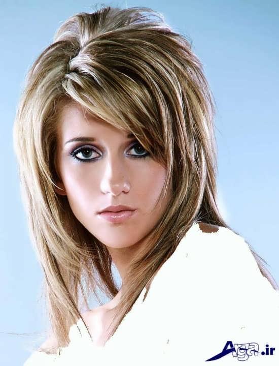مدل موی کوتاه لیر رنگ روشن