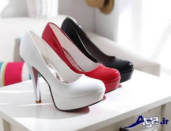کفش های زیبای پاشنه بلند زنانه