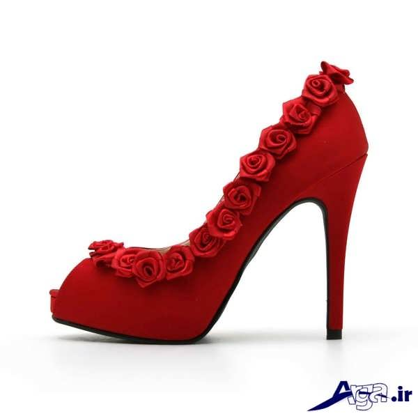 مدل کفش پاشنه بلند مجلسی زنانه