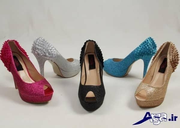 انواع رنگ های کفش پاشنه بلند زنانه