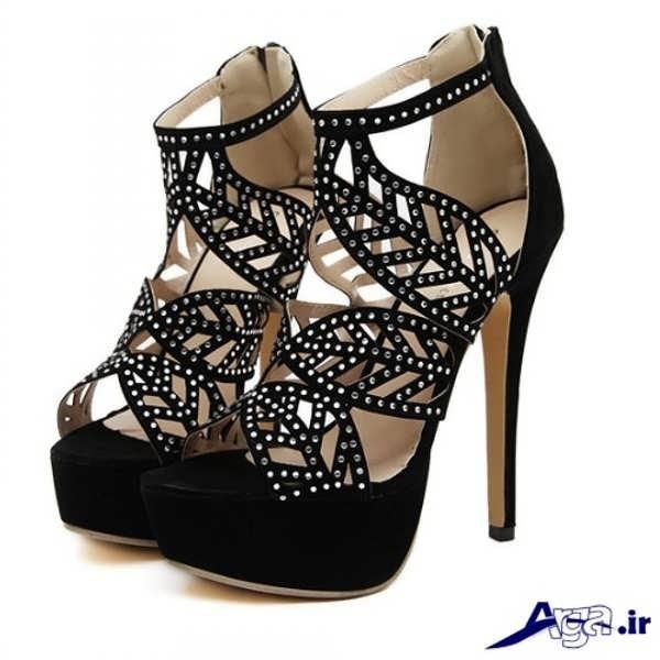کفش پاشنه بلند زنانه بسیار زیبا