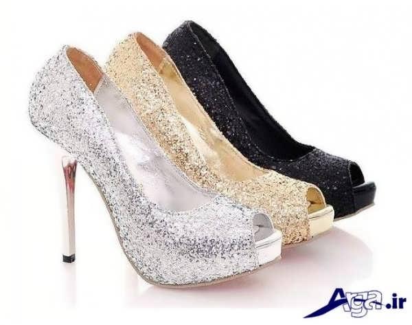 تنوع رنگ کفش پاشنه بلند مجلسی