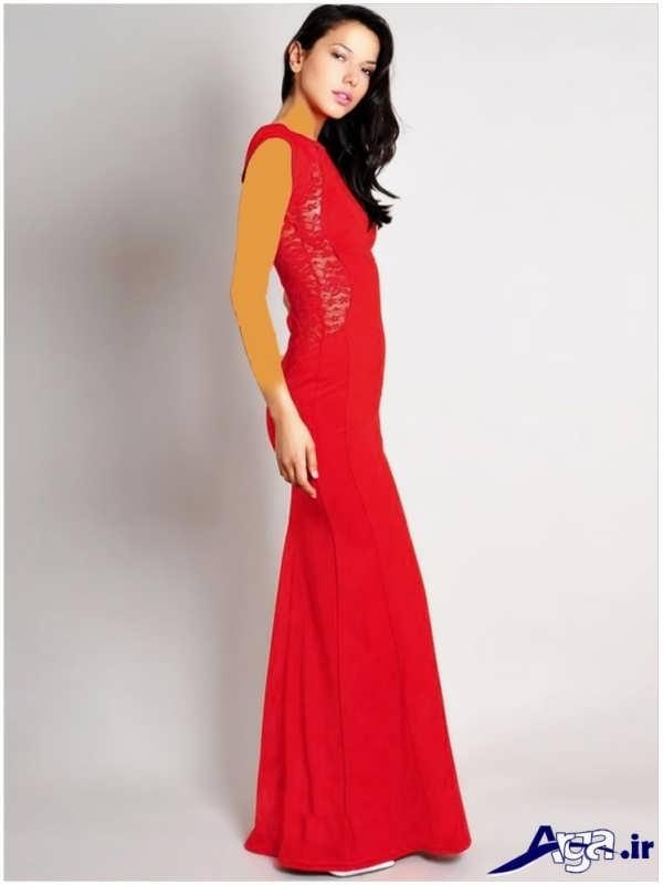 مدل لباس شب بلند زنانه