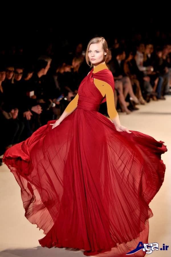 مدل لباس شب بلند دخترانه