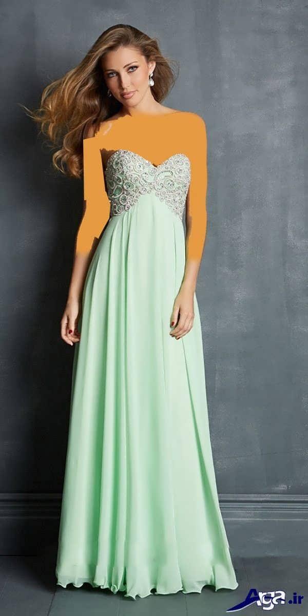 مدل لباس شب بلند جدید