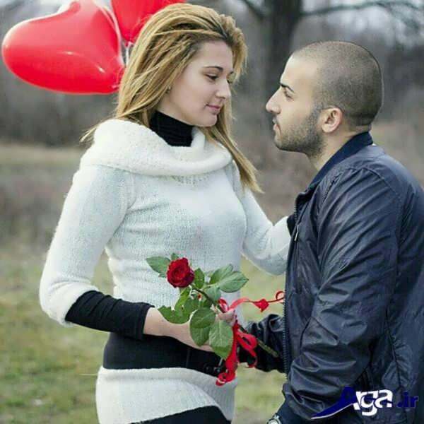 عکس عاشقانه برای پروفایل دختر