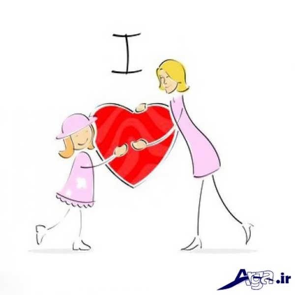 عکس فانتزی عاشقانه قلب برای پروفایل