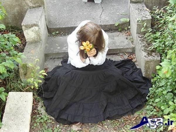 تصاویر عاشقانه غمگین دخترک