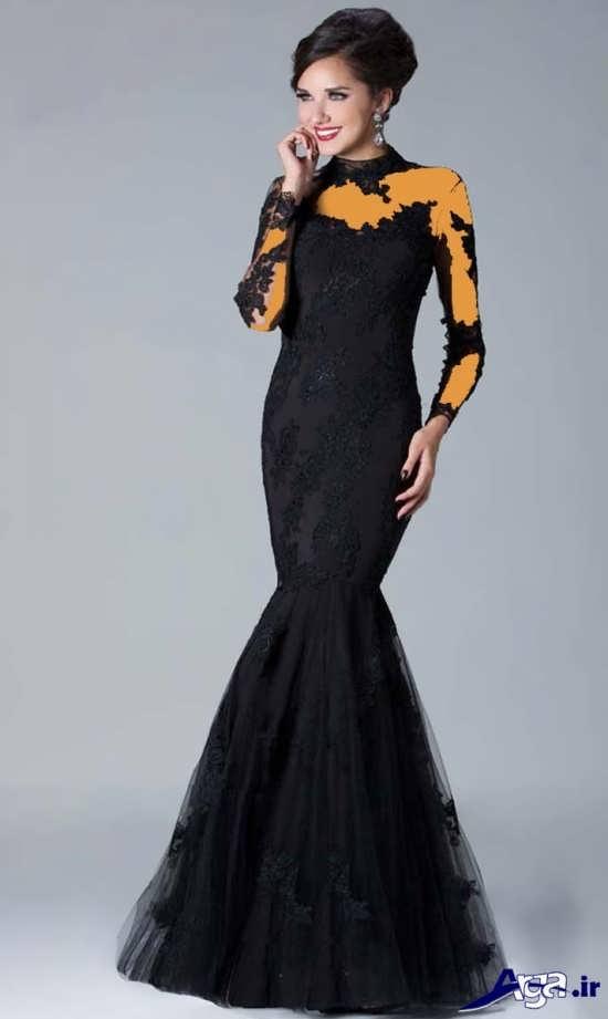 مدل لباس شب 2016 شیک و مدرن