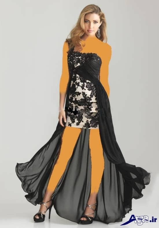 انواع متنوع مدل های لباس شب