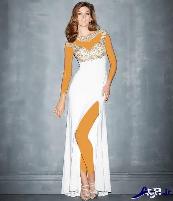 لباس شب سفید