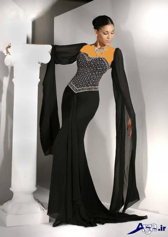 مدل لباس مجلسی زنانه با طراحی مدرن و متفاوت