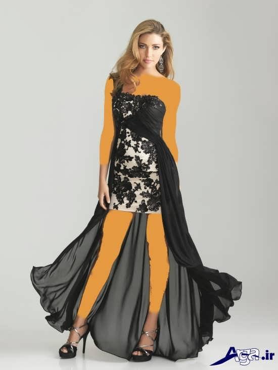 لباس مجلسی زنانه با طرح شیک