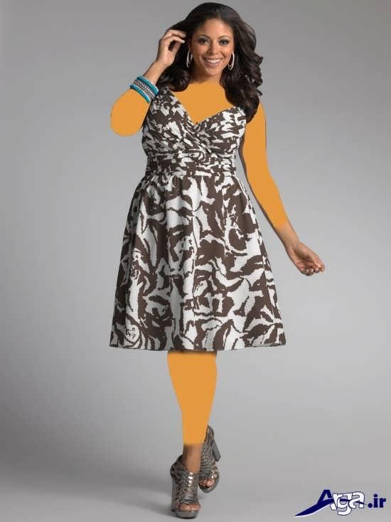 لباس مجلسی زنانه با سایز بزرگ