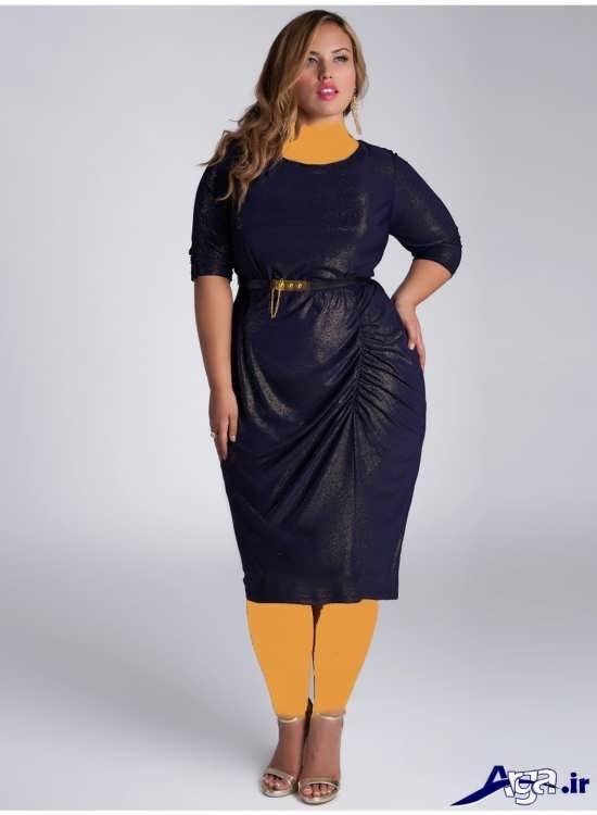انواع مدل های شیک و زیبا لباس مجلسی سایز بزرگ زنانه