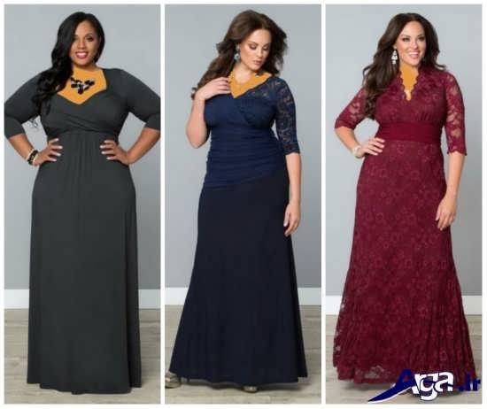 سه مدل لباس مجلسی زیبا