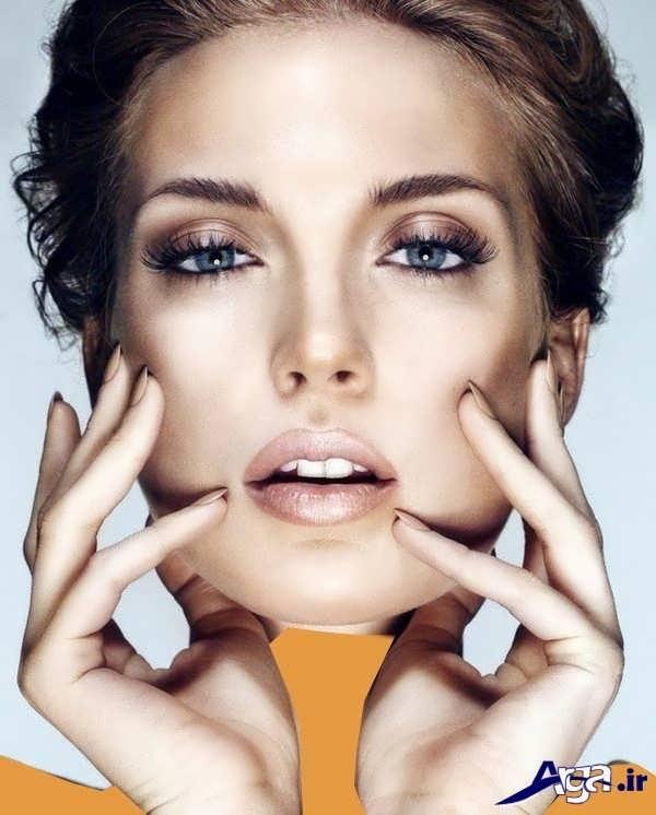 مدل آرایش صورت 2016