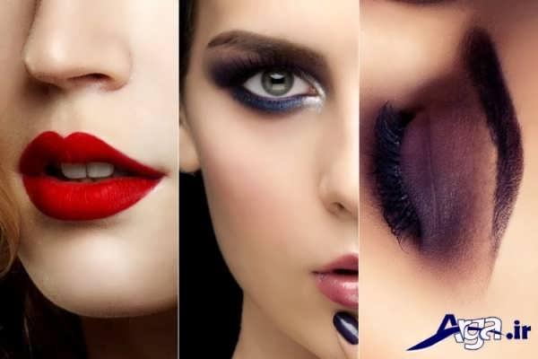 مدل آرایش شیک و جذاب 2016