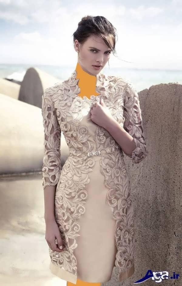 مدل مانتو مجلسی زیبا گیپور