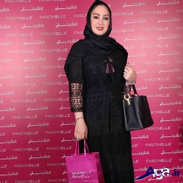 مدل مانتوهای هدیه تهرانی مدل مانتو بازیگران زن ایرانی در مکان های مختلف
