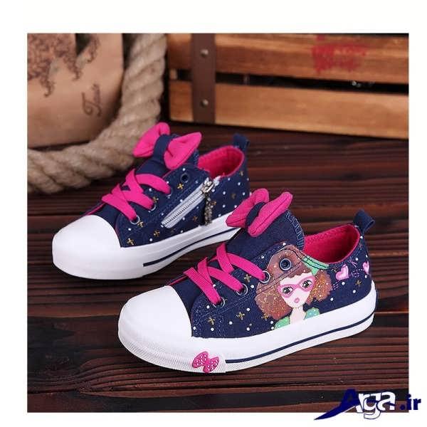 مدل کفش بچه گانه دخترانه با طرح کارتونی