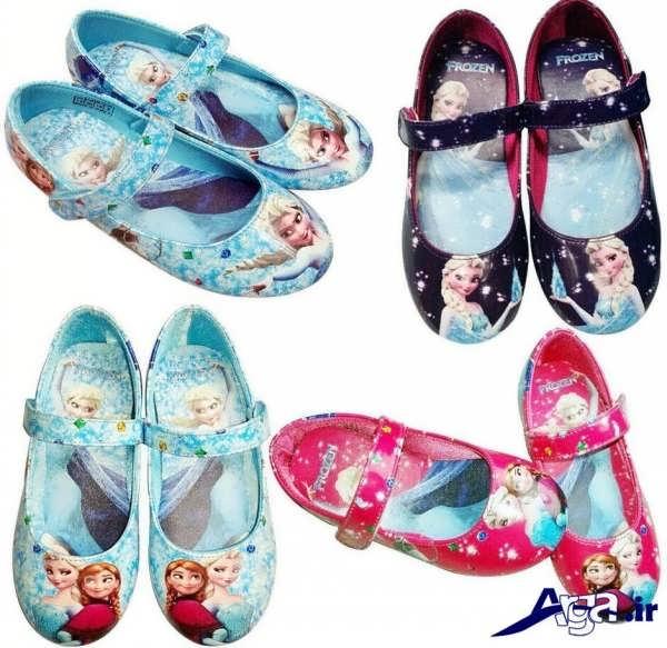 کفش بچه گانه دخترانه عروسکی