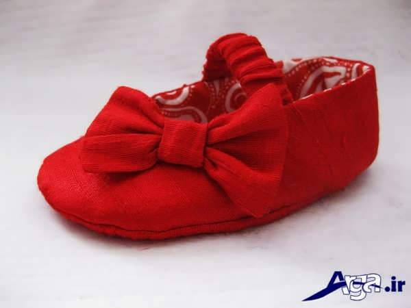 مدل کفش بچه گانه قرمز