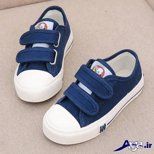 کفش بچه گانه دخترانه آبی