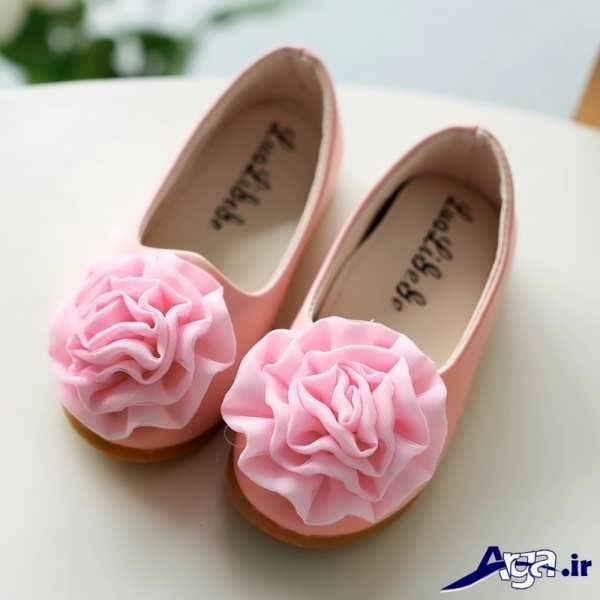 کفش بچه گانه دخترانه گلدار