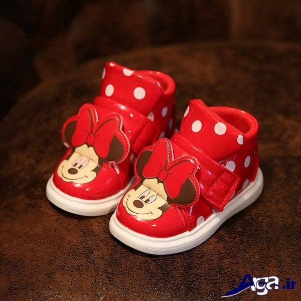 کفش بچه گانه دخترانه قرمز