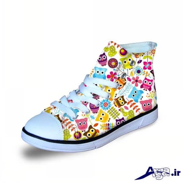 مدل کفش بچه گانه دخترانه جدید با طرح های فانتزی... کفش بچه گانه دخترانه اسپرت ...