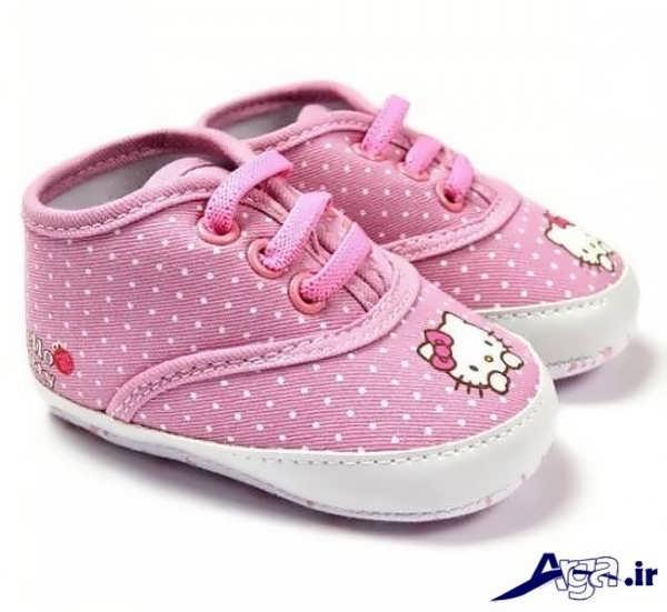 کفش نوزاد دخترانه